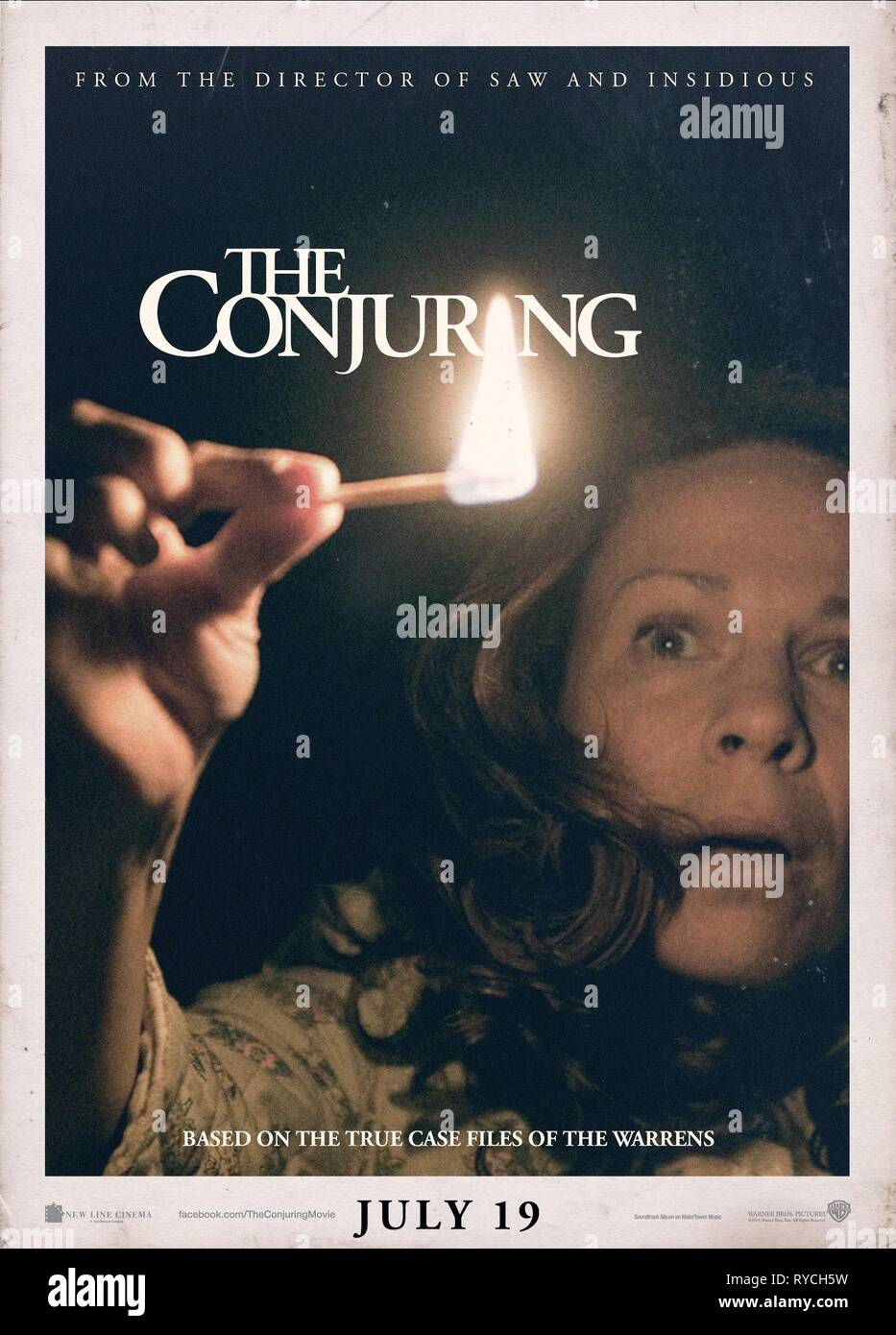 LILI TAYLOR POSTER, THE CONJURING, 2013 - Stock Image