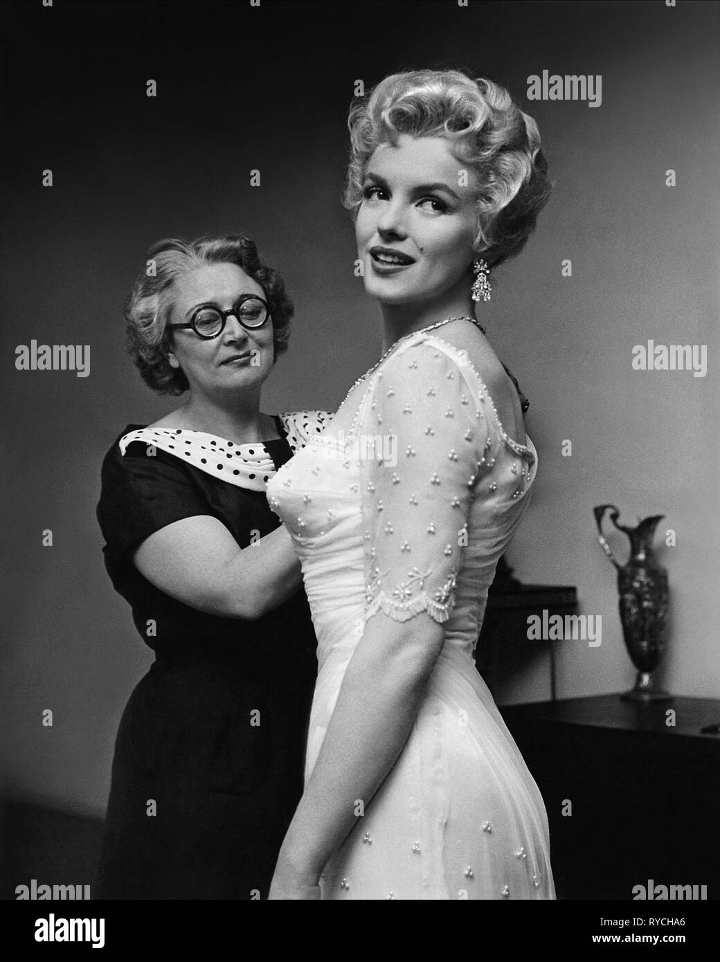 MARILYN MONROE, THE PRINCE AND THE SHOWGIRL, 1957 - Stock Image