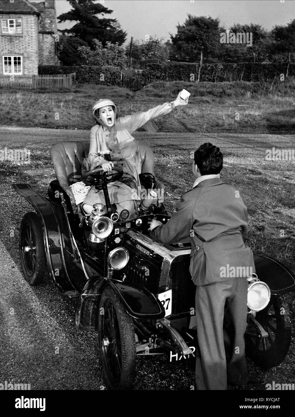 DINAH SHERIDAN, JOHN GREGSON, GENEVIEVE, 1953 Stock Photo