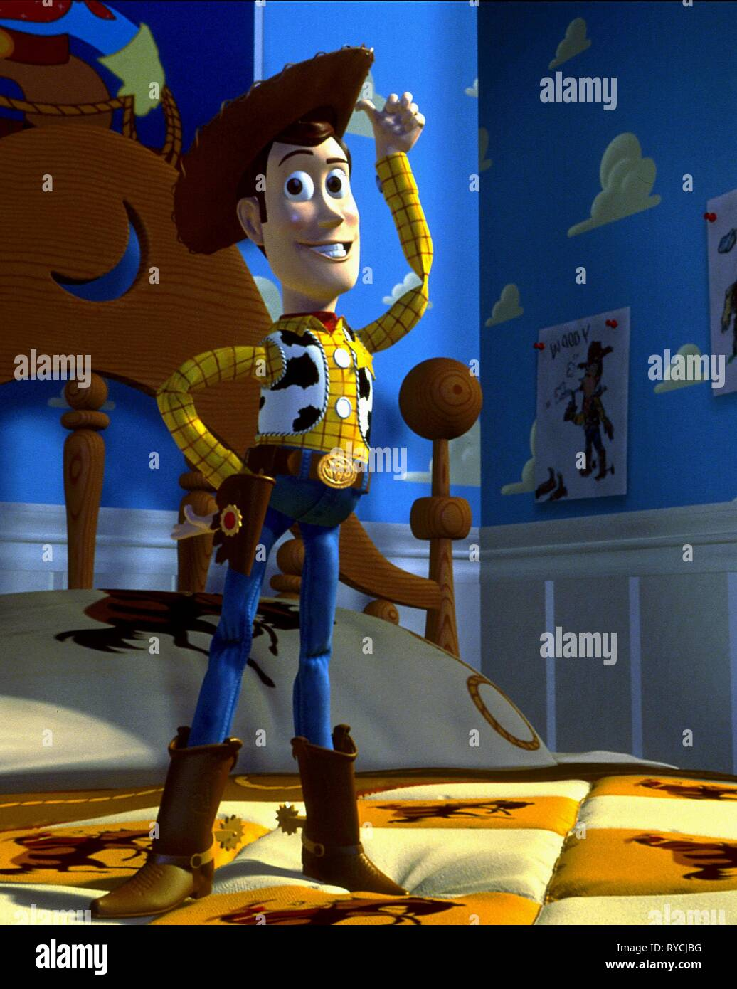 WOODY, TOY STORY, 1995 - Stock Image