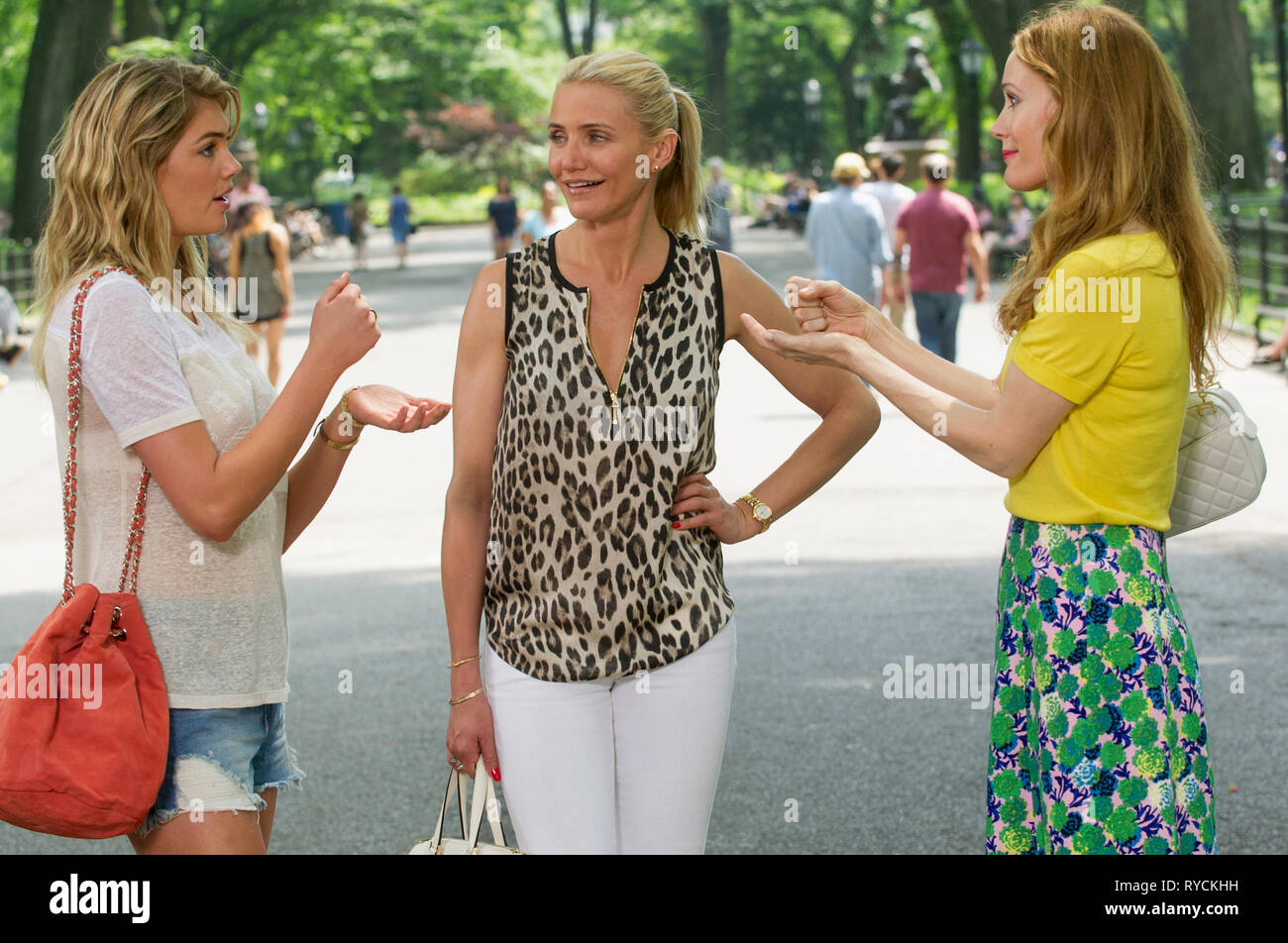 KATE UPTON, CAMERON DIAZ, LESLIE MANN, THE OTHER WOMAN, 2014 - Stock Image