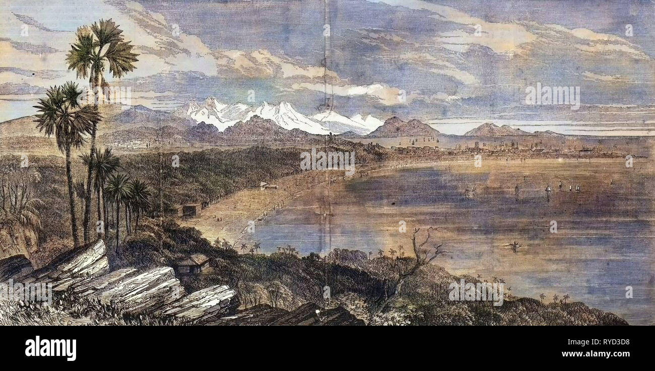 Bombay India. 1858 - Stock Image