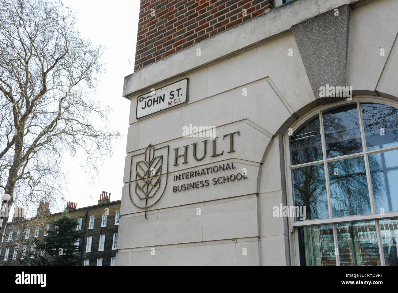 Hult International Business School, John Street, London, WC1, UK - Stock Image