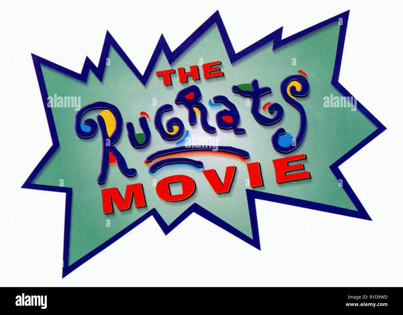 FILM ARTWORK, THE RUGRATS MOVIE, 1998 - Stock Image