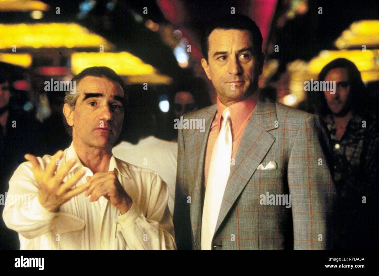Martin Scorsese Robert De Niro Casino 1995 Stock Photo