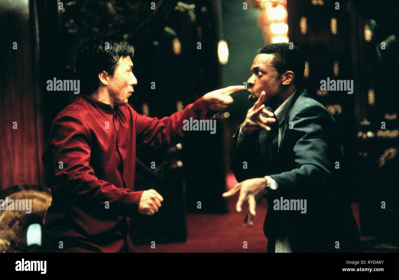 Jackie Chan Chris Tucker Rush Hour 1998 Stock Photo