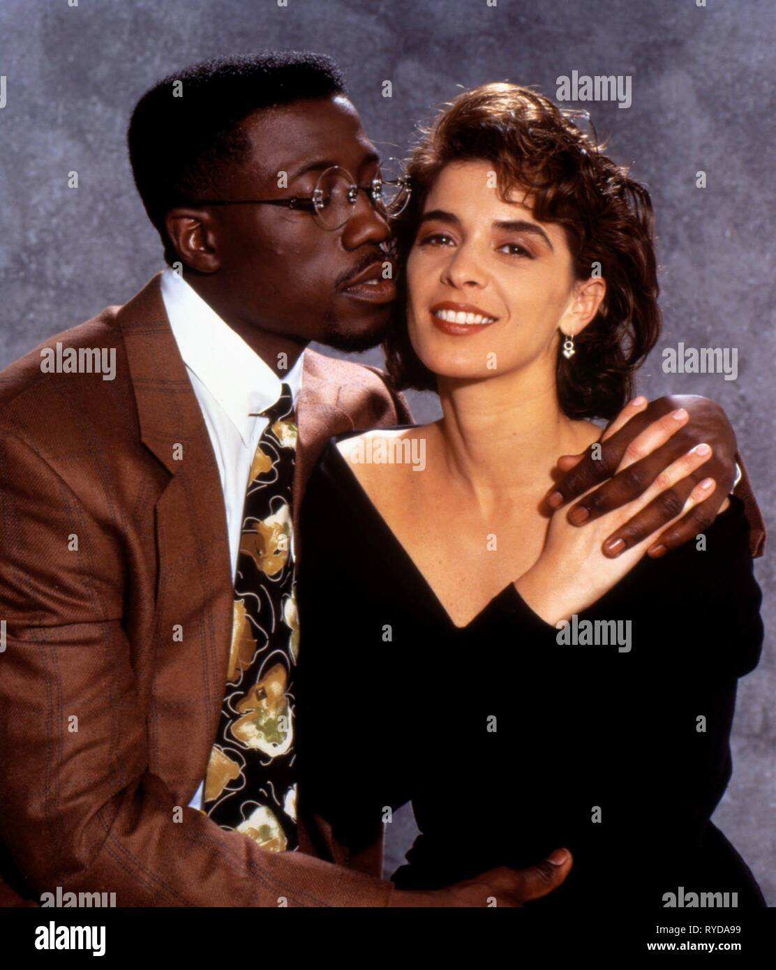 WESLEY SNIPES, ANNABELLA SCIORRA, JUNGLE FEVER, 1991 Stock Photo