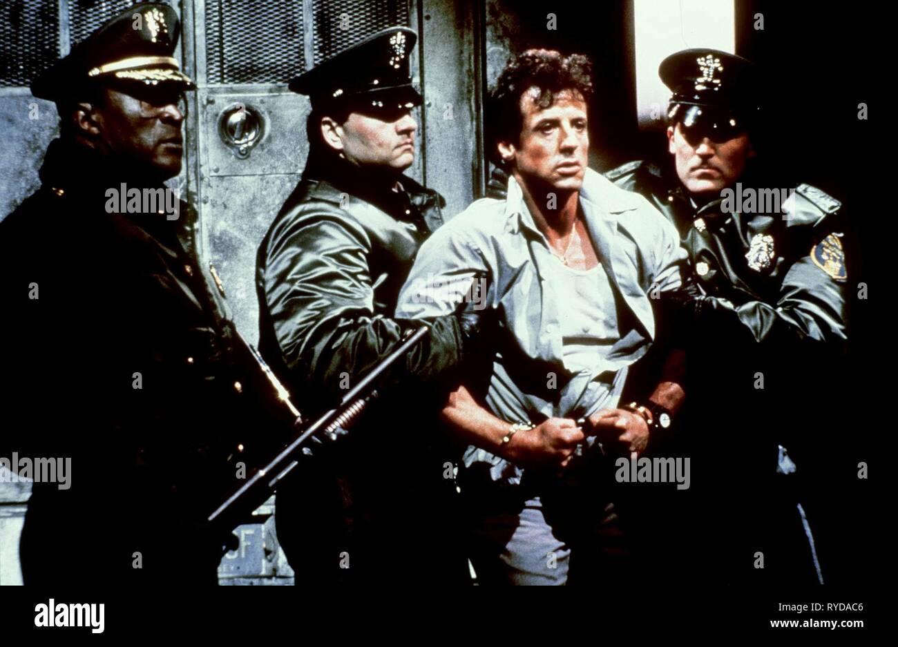 JOHN AMOS, SYLVESTER STALLONE, LOCK UP, 1989 - Stock Image
