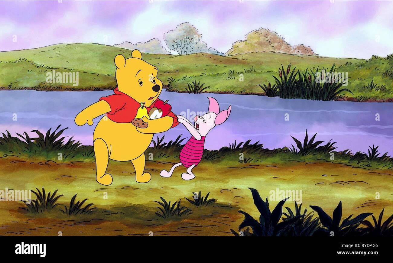 WINNIE THE POOH,PIGLET, PIGLET'S BIG MOVIE, 2003 - Stock Image