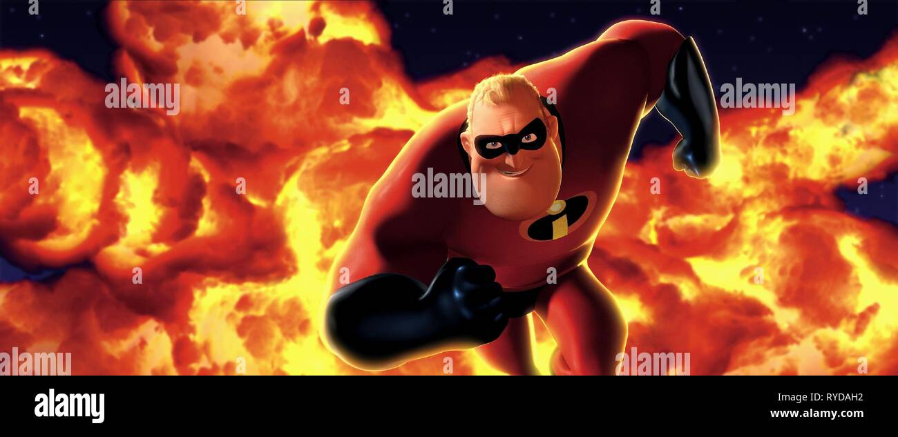 MR. INCREDIBLE AKA BOB PARR, THE INCREDIBLES, 2004 - Stock Image