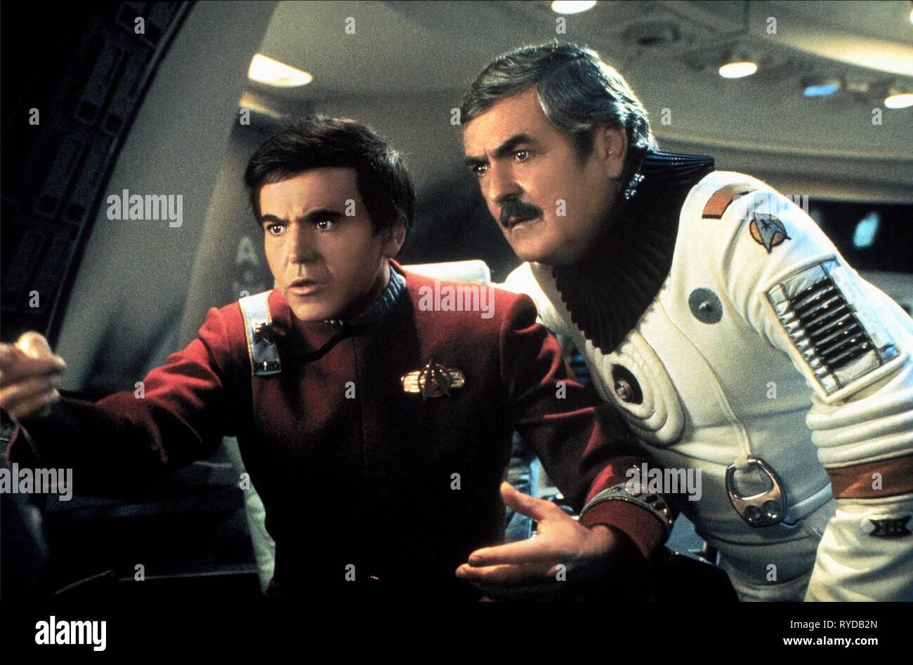 WALTER KOENIG,JAMES DOOHAN, STAR TREK III: THE SEARCH FOR SPOCK, 1984 - Stock Image