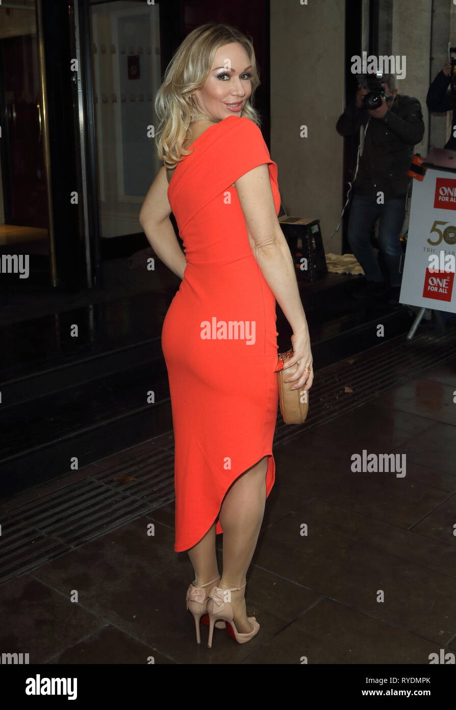 Kristina Rihanoff at The TRIC Awards (Television and Radio Industries Club Awards) at Grosvenor House, Park Lane - Stock Image