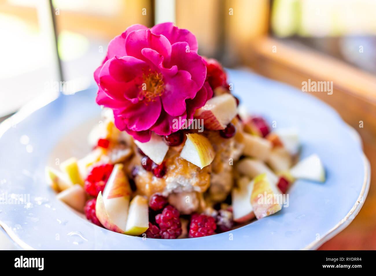 Beautiful Fruit Salad Decoration On Stock Photos Beautiful Fruit