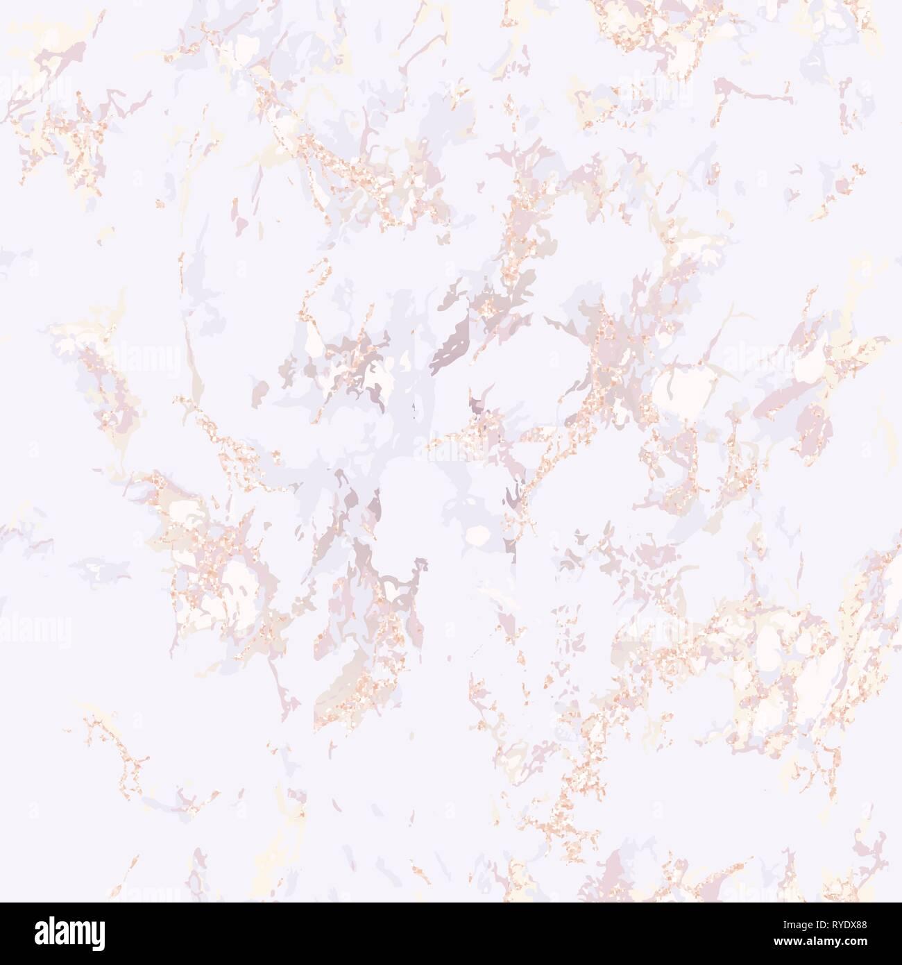 Elegant Pink Marble Texture Seamless Pattern Stock Vector Image Art Alamy