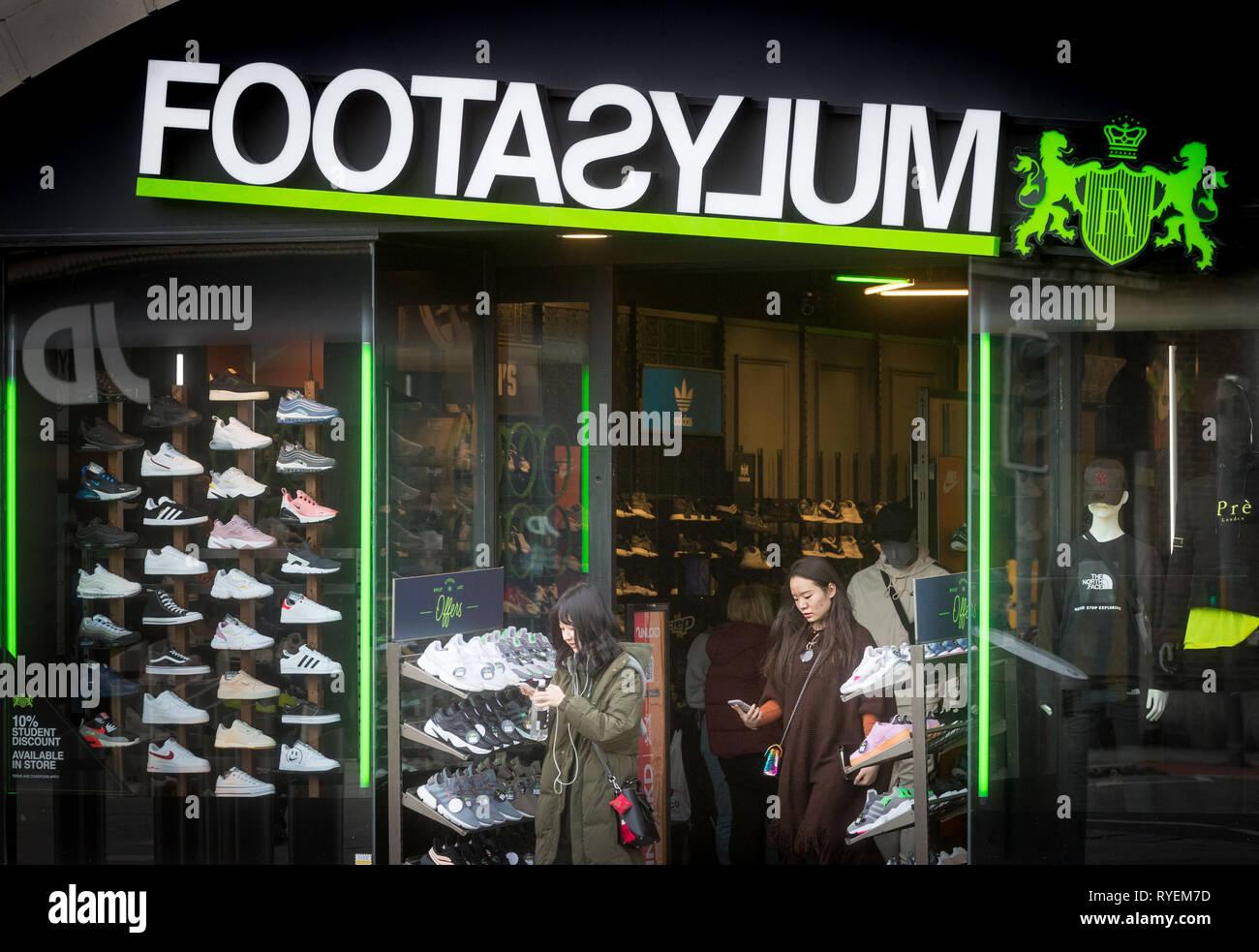Footasylum store in Southampton - Stock Image