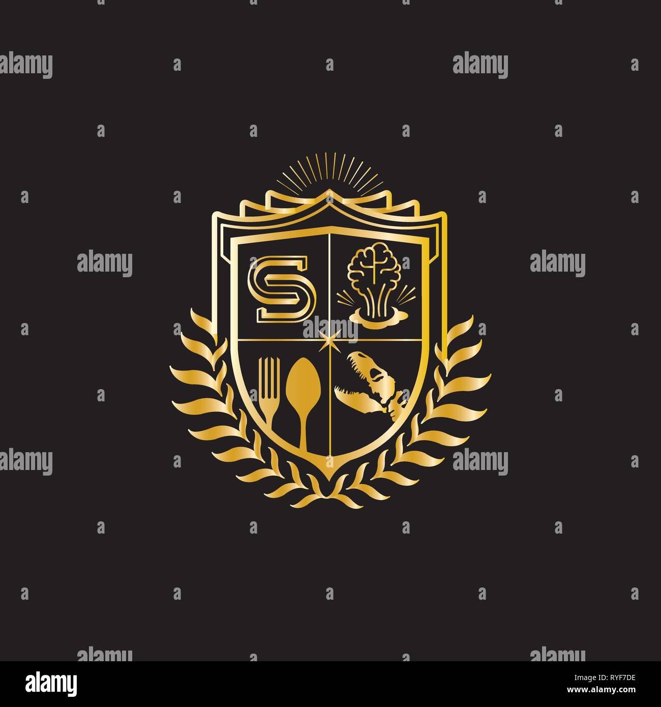 Eagle Security Logo Stock Photos & Eagle Security Logo
