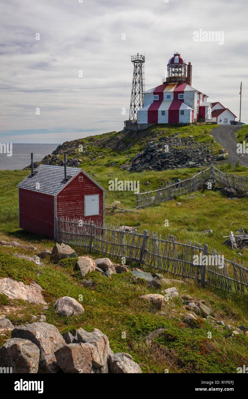 Cape Bonavista Lighthouse, Bonavista, Newfoundland Labrador, Canada - Stock Image