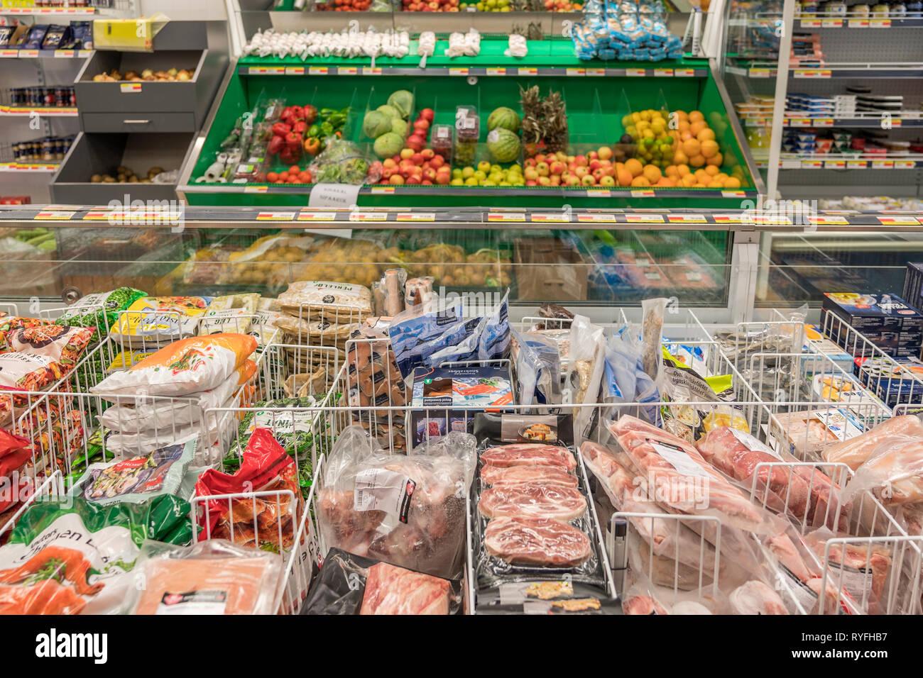 Convenience Store, Narsarsuaq, South Greenland - Stock Image
