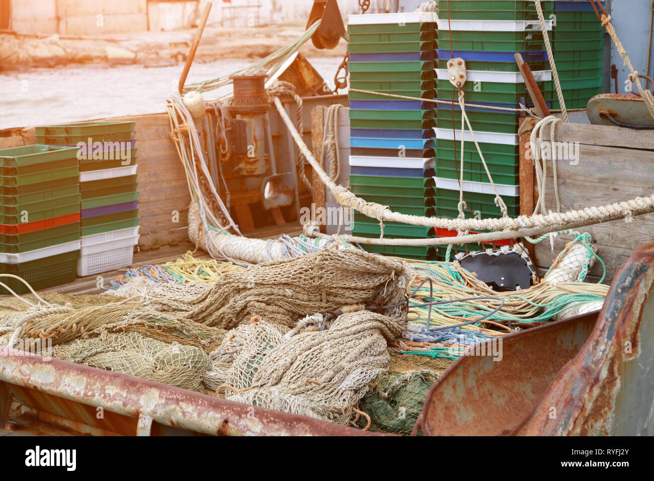 Trawl Boat Stock Photos & Trawl Boat Stock Images - Alamy
