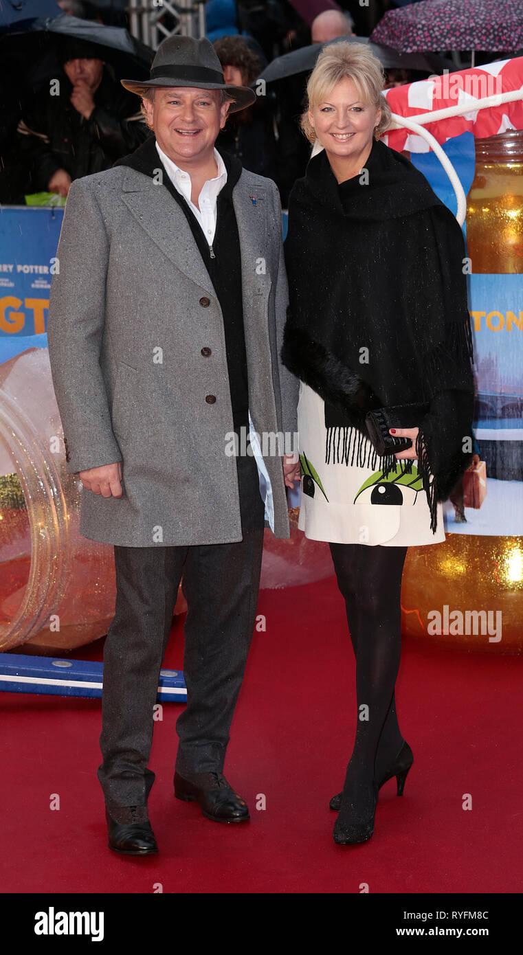 Nov 23, 2014 - London, England, UK - 'Paddington' World Premiere - Red Carpet Arrivals, Odeon, Leicester Square Photo Shows: Hugh Bonneville - Stock Image