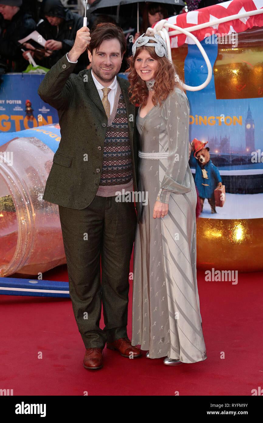 Nov 23, 2014 - London, England, UK - 'Paddington' World Premiere - Red Carpet Arrivals, Odeon, Leicester Square Photo Shows: Paul King - Stock Image