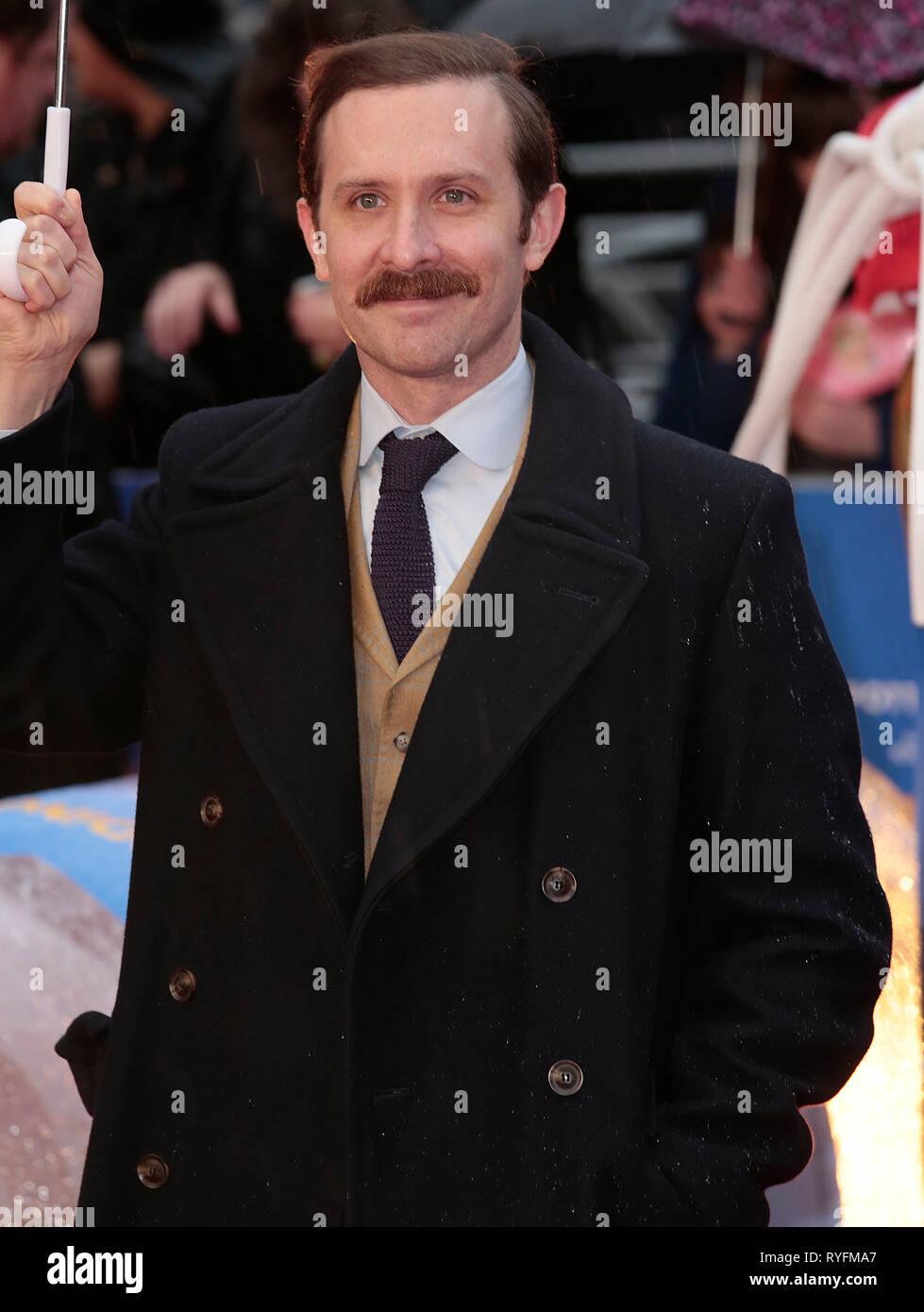 Nov 23, 2014 - London, England, UK - 'Paddington' World Premiere - Red Carpet Arrivals, Odeon, Leicester Square Photo Shows: Guest - Stock Image