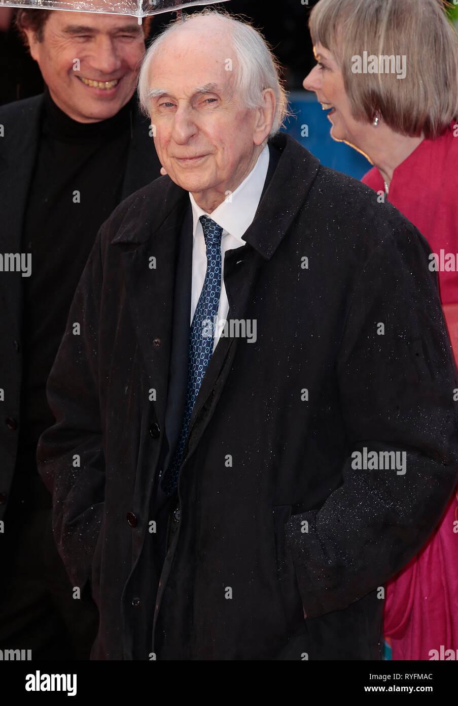 Nov 23, 2014 - London, England, UK - 'Paddington' World Premiere - Red Carpet Arrivals, Odeon, Leicester Square Photo Shows: Michael Bond - Stock Image