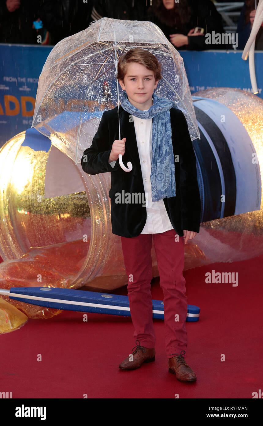 Nov 23, 2014 - London, England, UK - 'Paddington' World Premiere - Red Carpet Arrivals, Odeon, Leicester Square Photo Shows: Samuel Joslin - Stock Image
