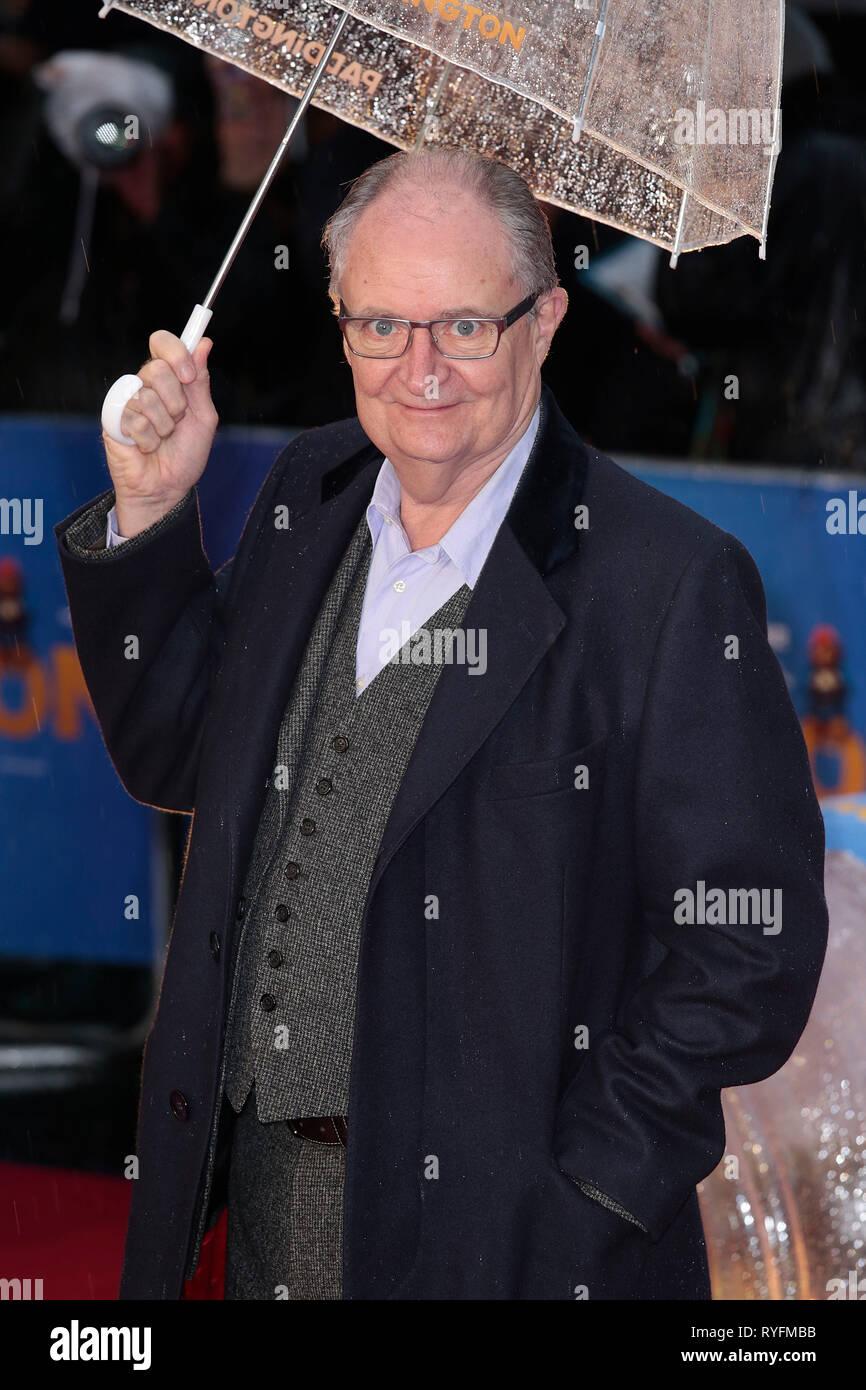 Nov 23, 2014 - London, England, UK - 'Paddington' World Premiere - Red Carpet Arrivals, Odeon, Leicester Square Photo Shows: Jim Broadbent - Stock Image