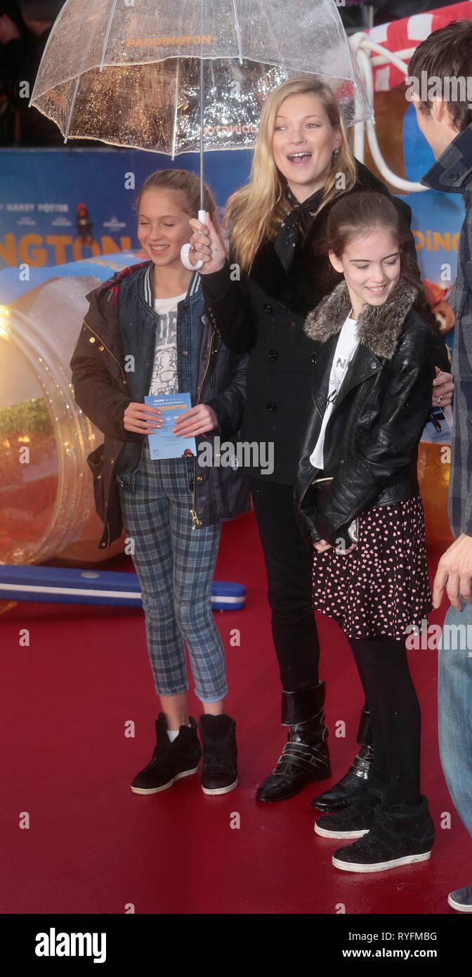 Nov 23, 2014 - London, England, UK - 'Paddington' World Premiere - Red Carpet Arrivals, Odeon, Leicester Square Photo Shows: - Stock Image