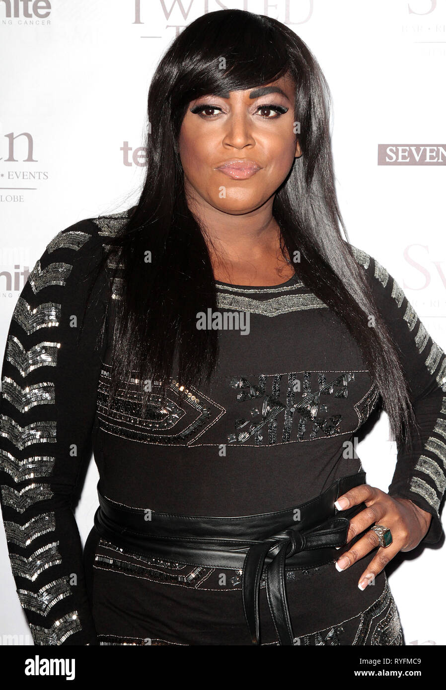 Nov 22, 2014 - London, England, UK - Teens Unite: A Twisted Tale Charity Ball at The UnderGlobe, Southbank Photo Shows: Mica Paris - Stock Image
