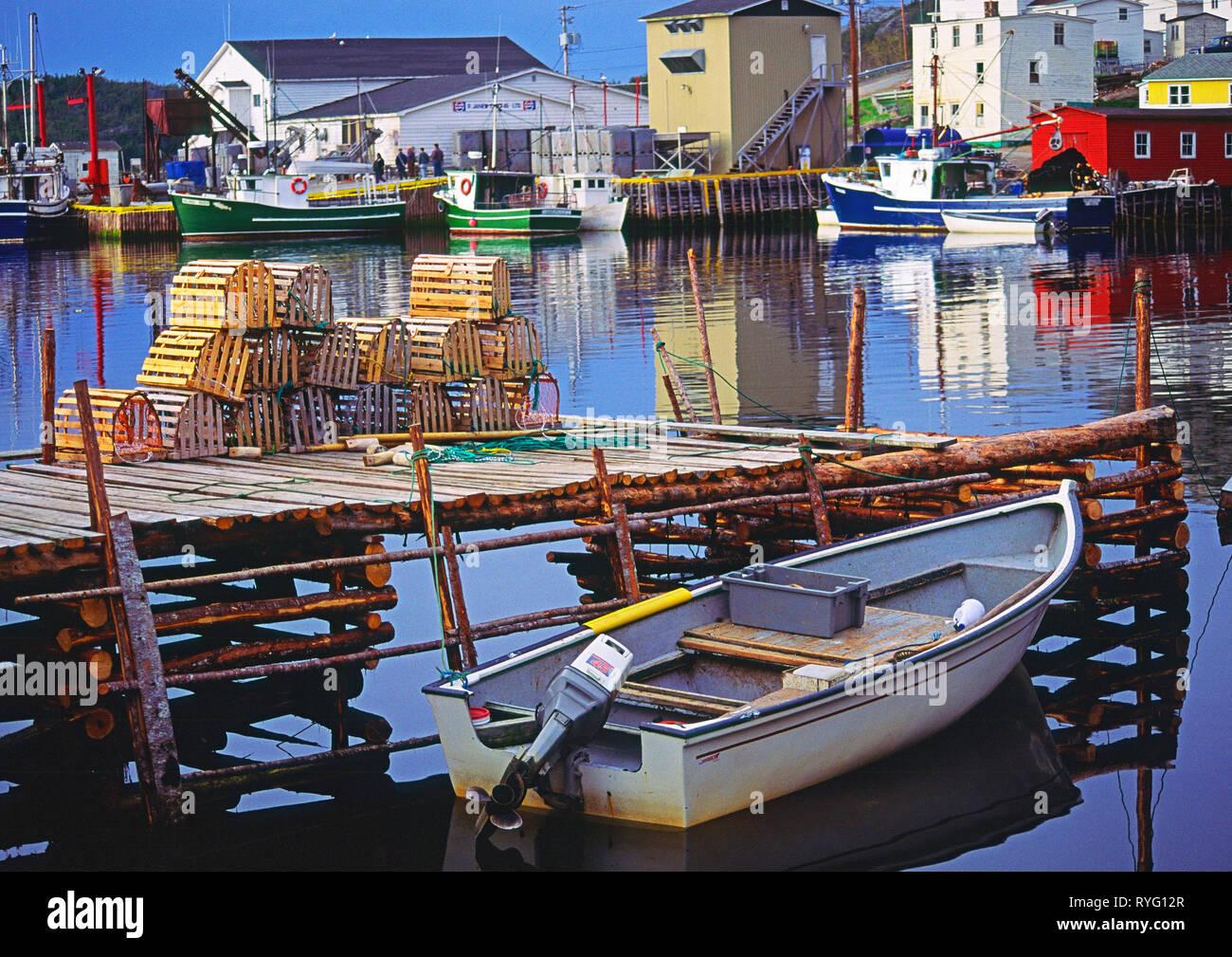 Village of Salvage, Newfoundland, Canada - Stock Image