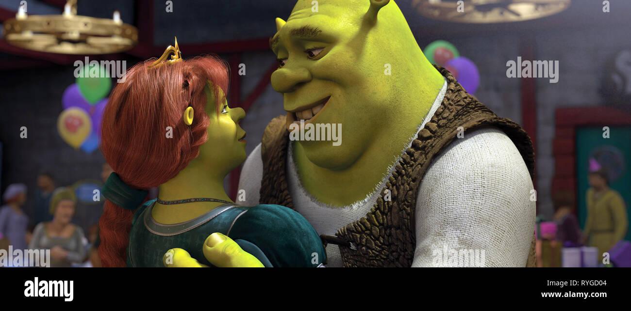 Princess Fiona Shrek Shrek Forever After 2010 Stock Photo Alamy