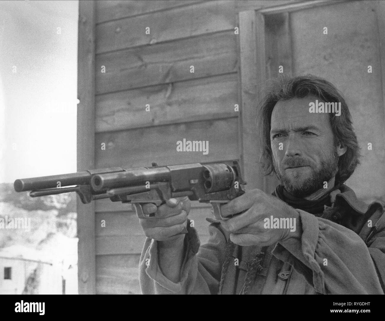 CLINT EASTWOOD, THE OUTLAW JOSEY WALES, 1976 Stock Photo