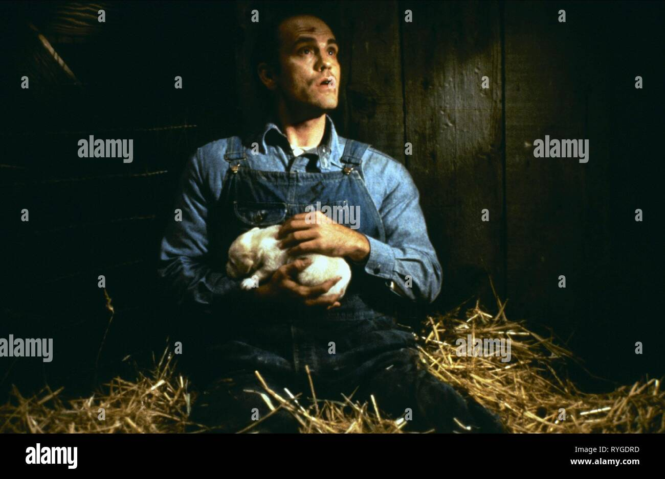 JOHN MALKOVICH, OF MICE AND MEN, 1992 - Stock Image