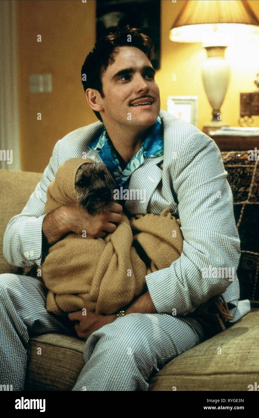 MATT DILLON WITH DOG, THERE'S SOMETHING ABOUT MARY, 1998 - Stock Image
