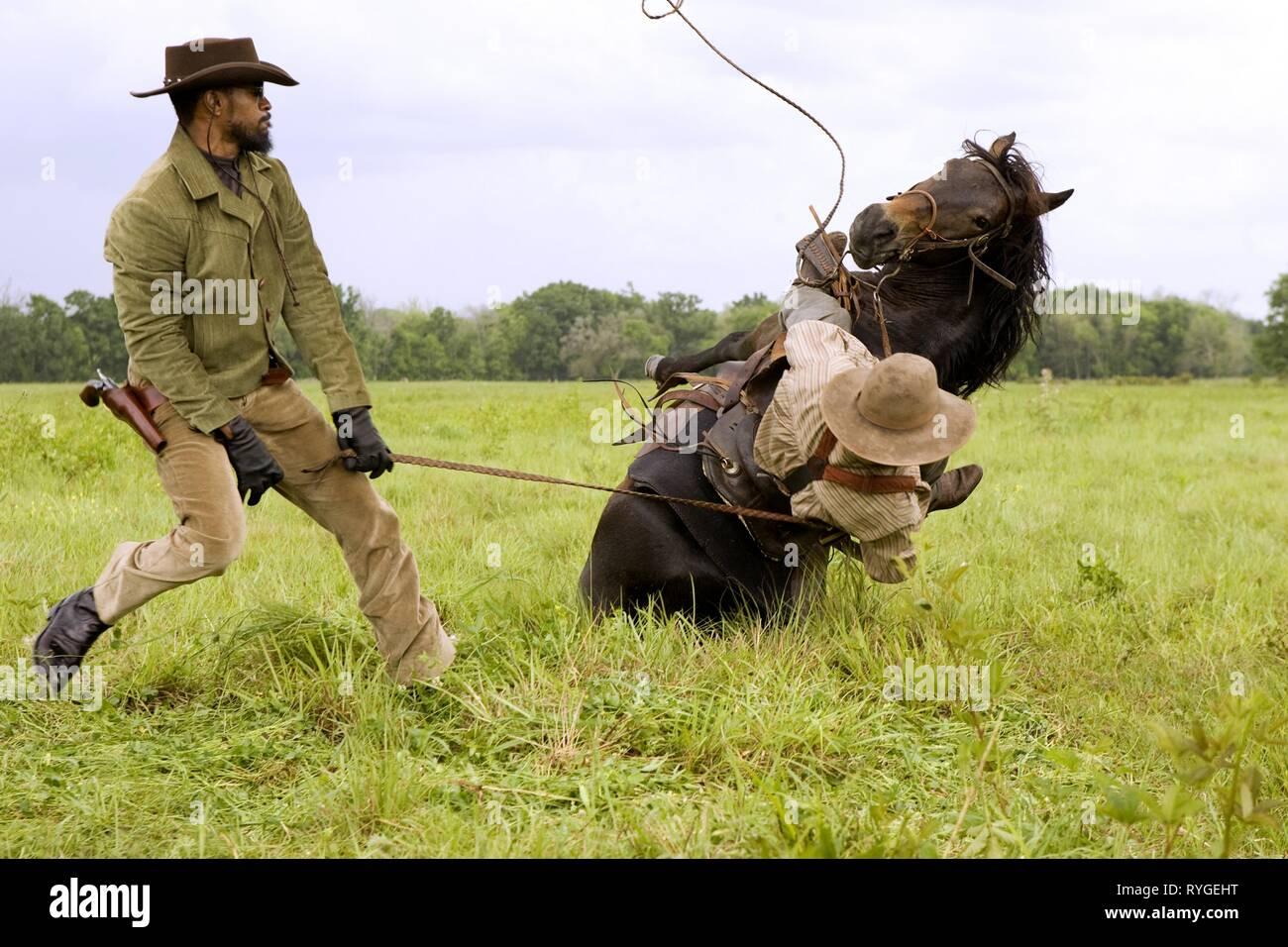 Jamie Foxx Django Unchained 2012 Stock Photo Alamy