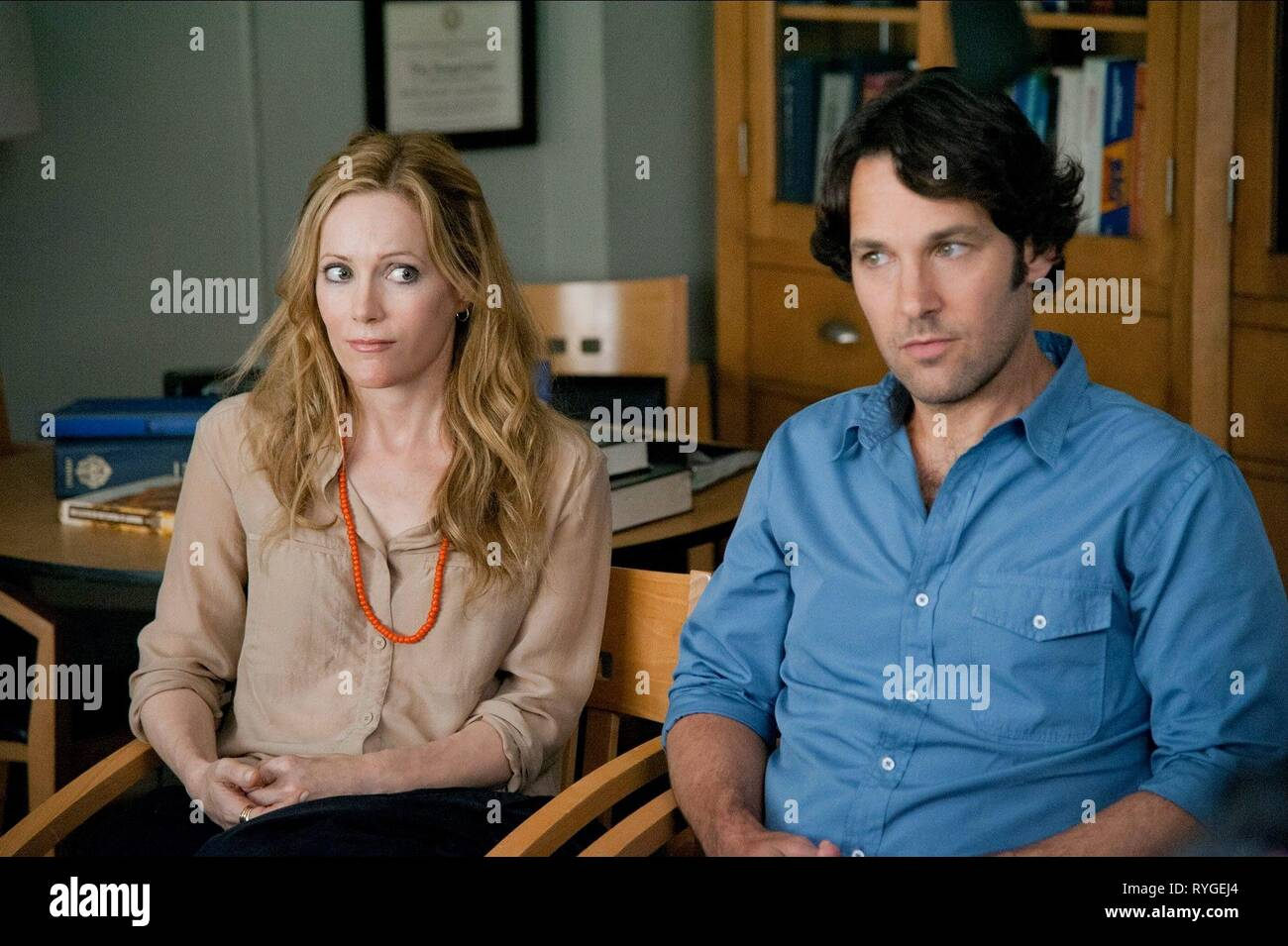 LESLIE MANN, PAUL RUDD, THIS IS 40, 2012 - Stock Image