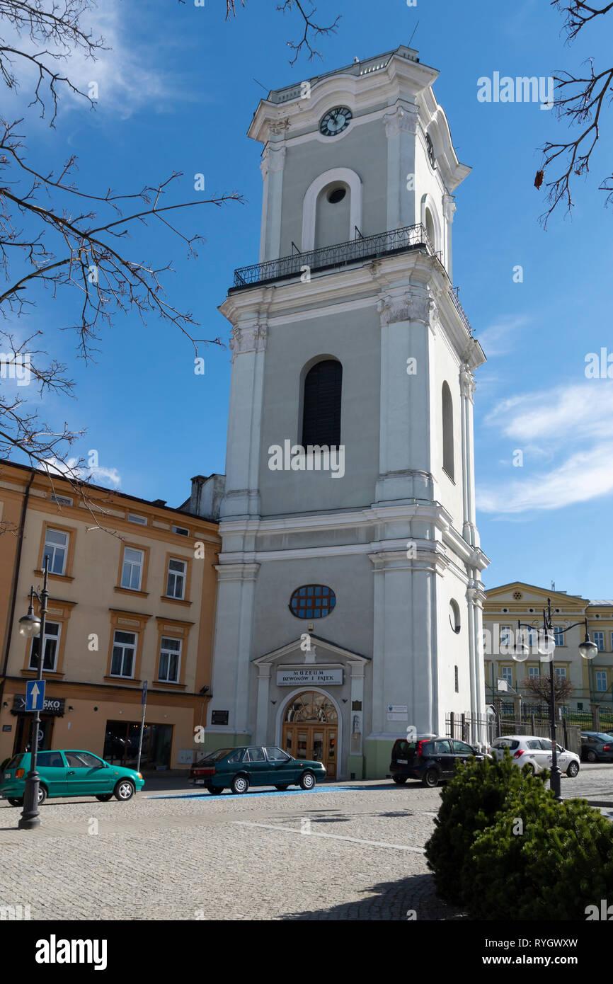 Centre of Przemysl city in Poland, Podkarpackie, Europe. Stock Photo