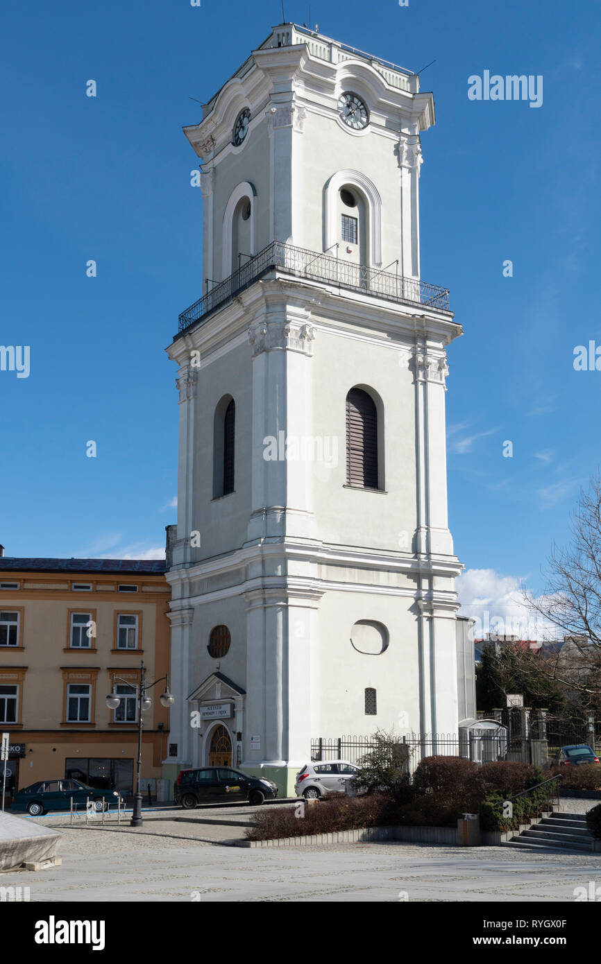 Centre of Przemysl city in Poland, Podkarpackie, Europe. Stock Photo