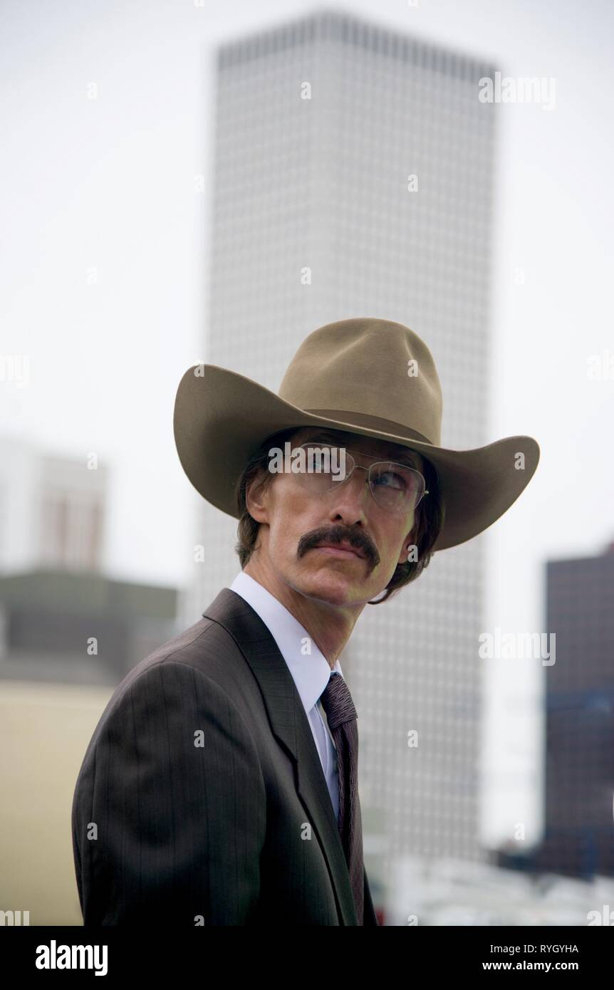 MATTHEW MCCONAUGHEY, DALLAS BUYERS CLUB, 2013 - Stock Image