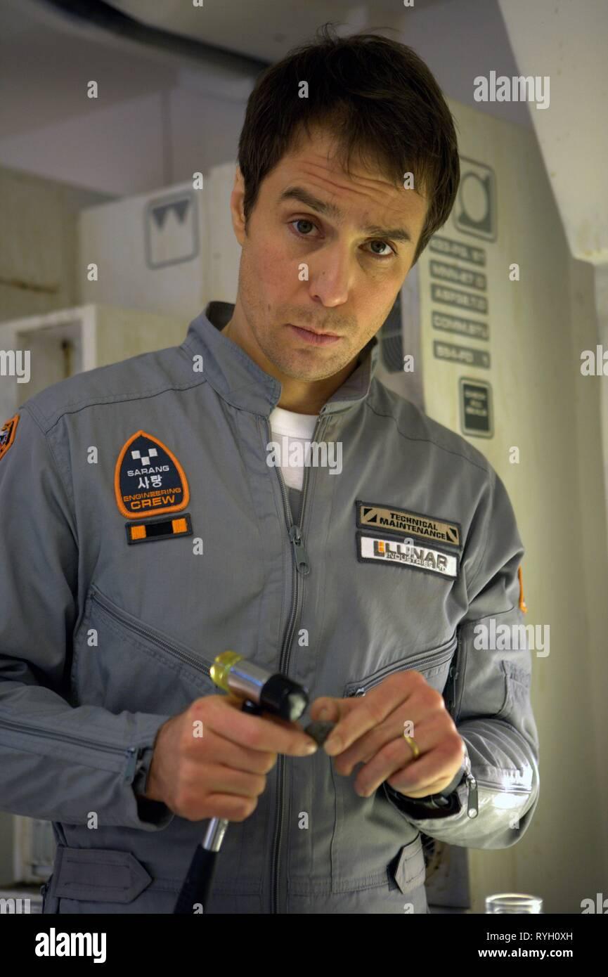 SAM ROCKWELL, MOON, 2009 - Stock Image