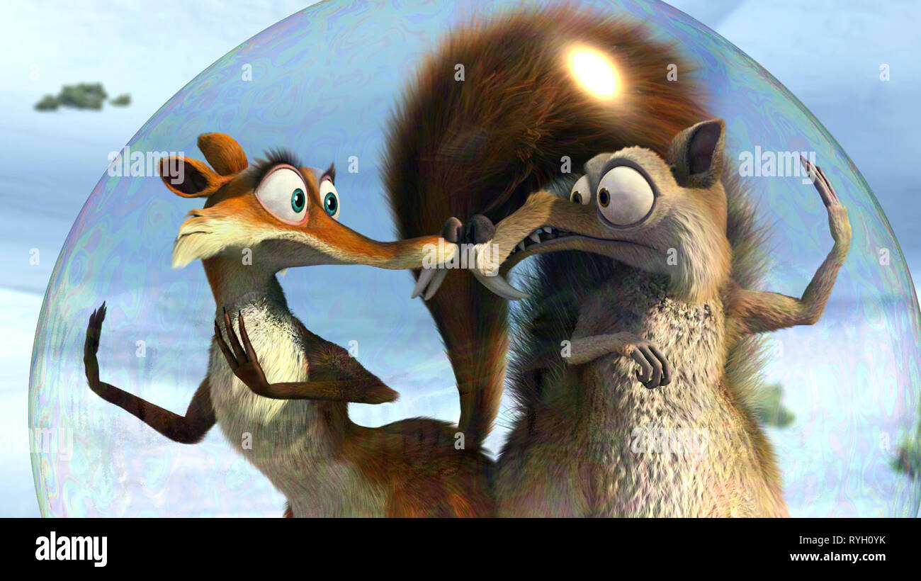 Scratte Scrat Ice Age Dawn Of The Dinosaurs 2009 Stock Photo Alamy
