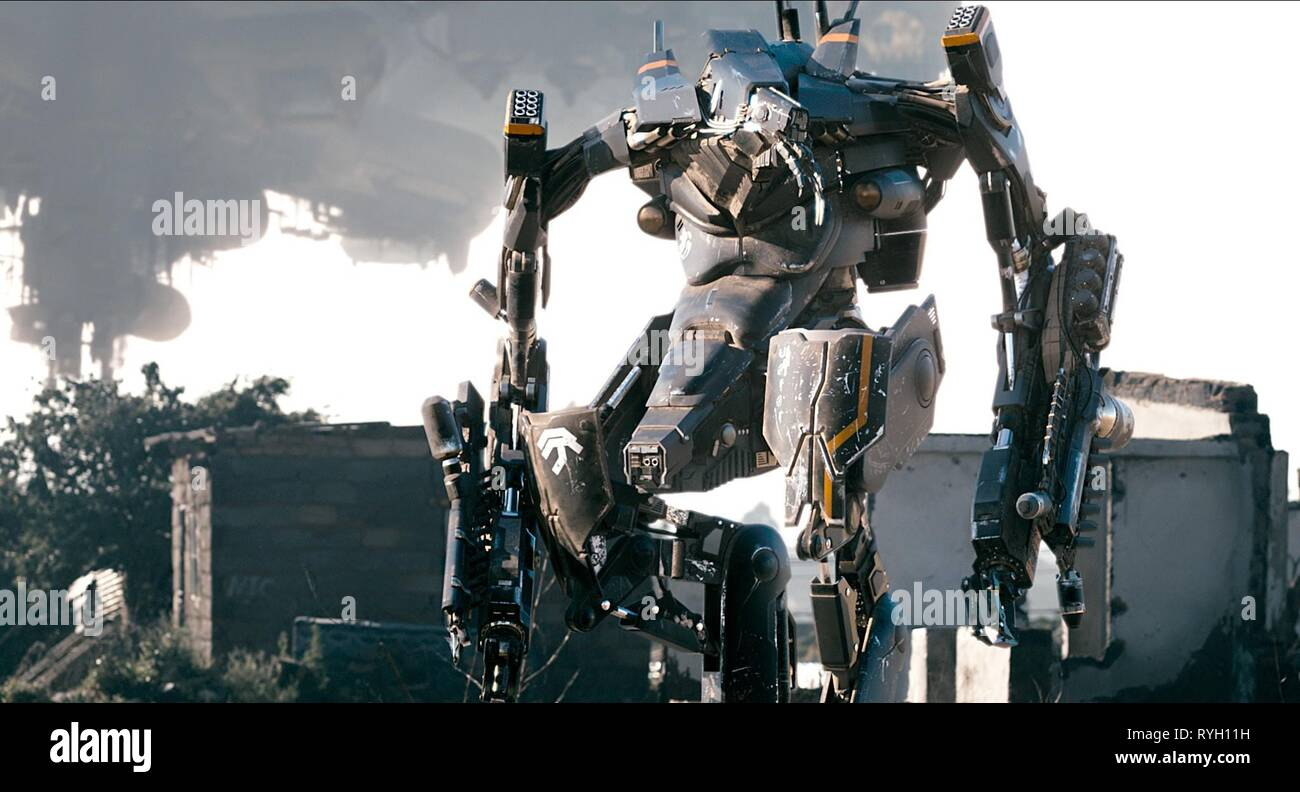Robot District 9 2009 Stock Photo Alamy