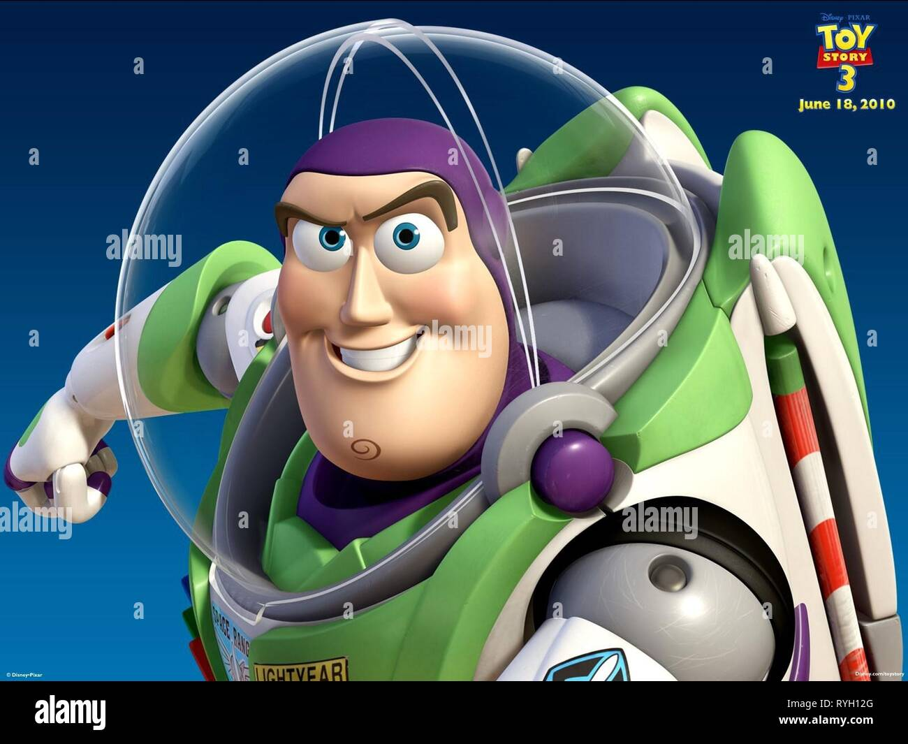 BUZZ LIGHTYEAR, TOY STORY 3, 2010 - Stock Image