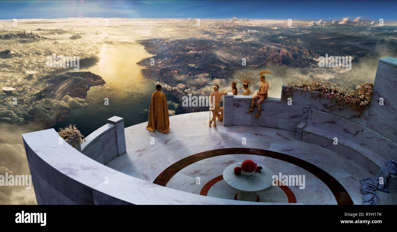 THE GODS ON MOUNT OLYMPUS, IMMORTALS, 2011 - Stock Image