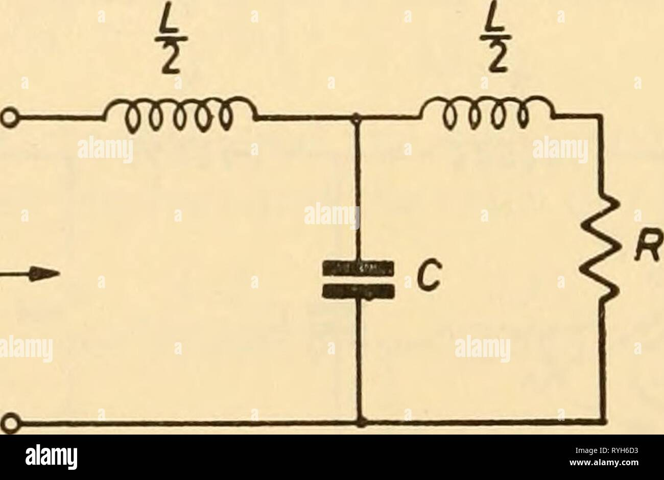 Electronic apparatus for biological research  electronicappara00dona Year: 1958  INDUCTANCES, CAPACITANCES AND RESISTANCES which simpUfies to I^out 1 ( 1 in l-co^-C+j^--^^ + /coL oi^D-C (oCR] 2R SR Now let L/2 = Rjcoc and C =- IjojcR Kout _ 1 2 Fin 1 1-2 lo ,OJc^ in '2. 1 2 1 2-- - . o)c mcJ J 1-2 ^' ]•+(^JT' + 2^ Wo/ J . 1/2 The one-half here represents the usual loss of e.m.f. consequent upon the use of a matched load. The bracketed term describes the filter performance. By the usual process the phase shift is seen to be 3 (j) = tan' -1 ^c/ ^ CO CO J 1-21 Extent to which matching is pr - Stock Image