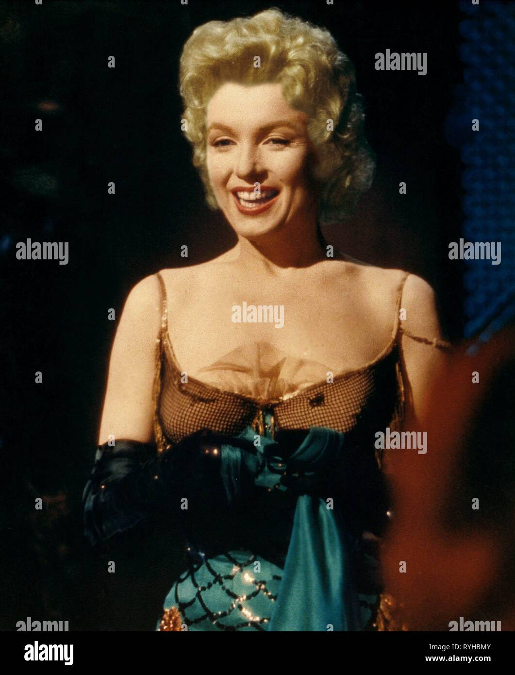 BUS STOP, MARILYN MONROE, 1956 - Stock Image
