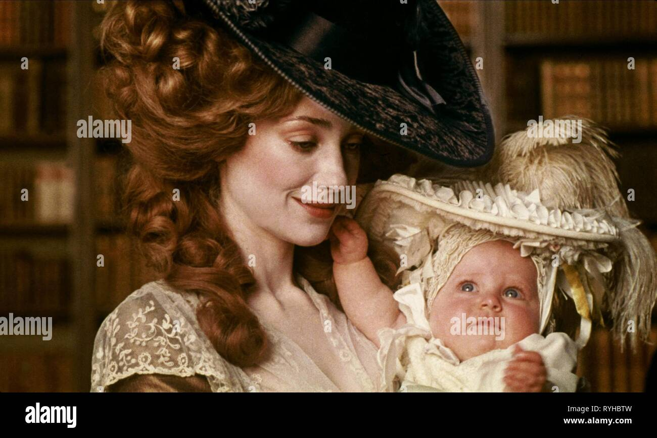 MARISA BERENSON, BABY, BARRY LYNDON, 1975 - Stock Image