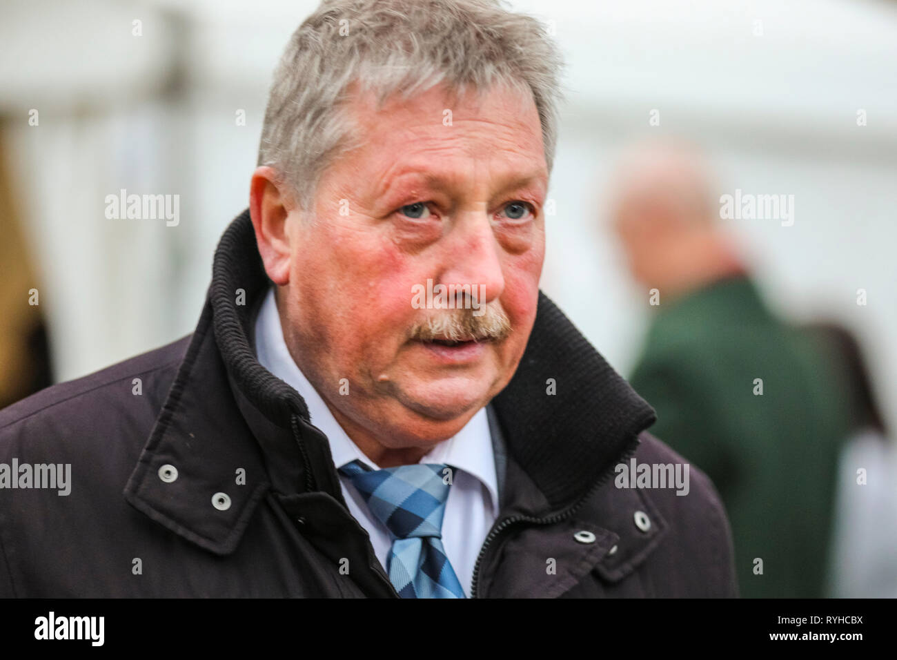 Westminster, London, UK. 13th Mar, 2019. Sammy Wilson, MP, DUP Democratic Unionist Party Member of Parliament for East Antrim. Credit: Imageplotter/Alamy Live News - Stock Image